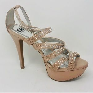 Gianni Bini Jeweled High Heels